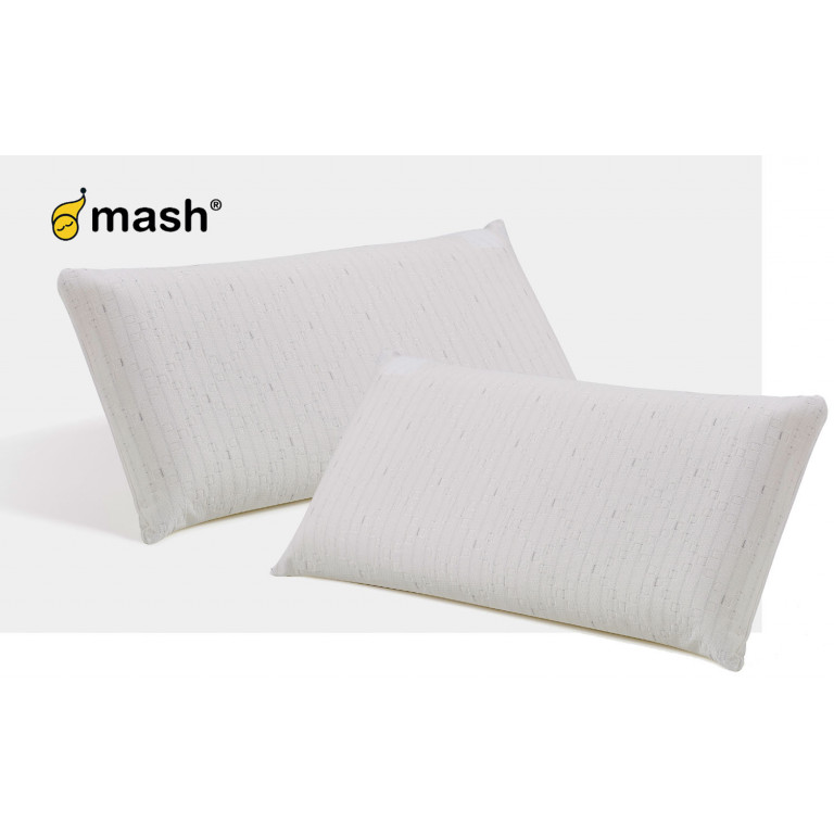 Pack de dos almohadas Visco Eco Mash 70cm