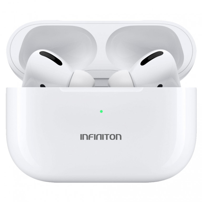Auriculares Bluetooth en blanco INFINITON BE-60