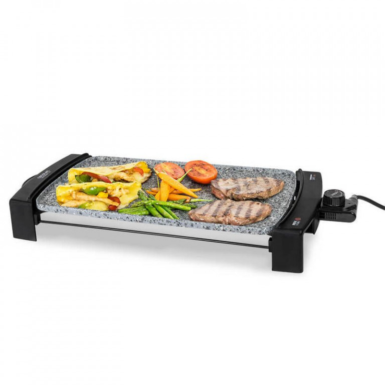 Plancha de asar 2500 w.CECOTEC ROCK AND WATER 2500 03053